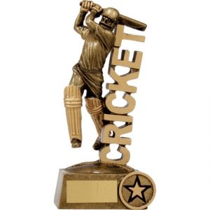 Cricket 'Word' Batsman 140mm
