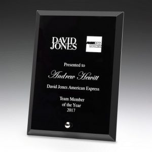 Prime Plaque Black