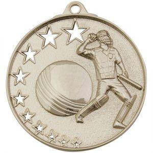 Cricket Stars Medal Gold