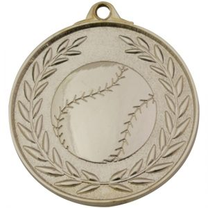 Baseball Classic Wreath Gold