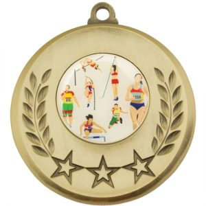 Gold Medal With 25mm Centre