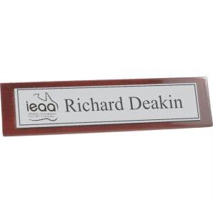 Timber Name Bar
