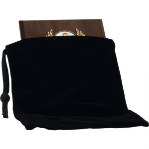 Velvet Plaque Bag