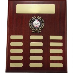 Timber Plaque With 25mm Centre