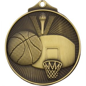 Basketball Medal Gold