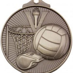 Netball Medal Silver