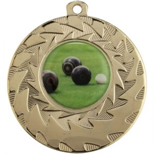 Eco Wave Gold Medal With 25mm Centre