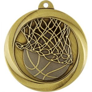 Econo Series Basketball Medal Gold