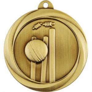 Econo Series Cricket Medal Gold