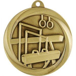 Econo Series Gymnastics Medal Gold