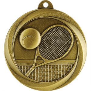 Econo Series Tennis Medal Gold