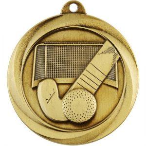 Econo Series Hockey Medal Gold