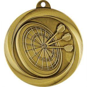 Econo Series Darts Medal Gold
