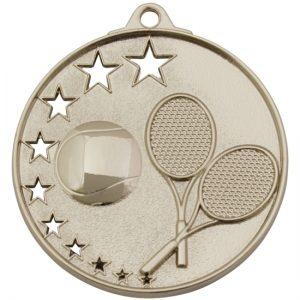 Tennis Medal Silver