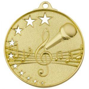 Music Medal Gold