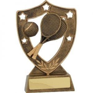 Tennis Gold Shield