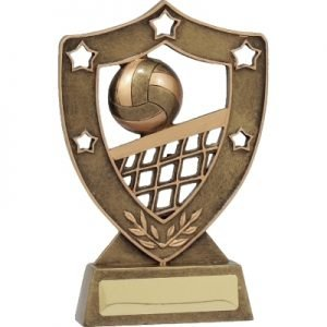 Volleyball Gold Shield