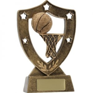 Basketball Gold Shield
