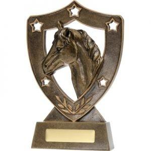 Horse Gold Shield