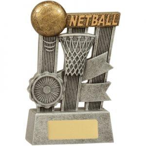 Netball Silver Ribbon