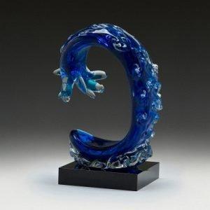 Wave Art Glass