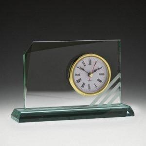 Rialto Glass Clock