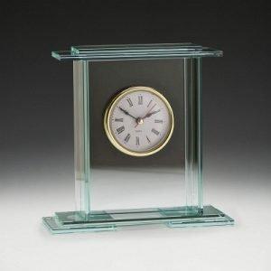 Empire Glass Clock