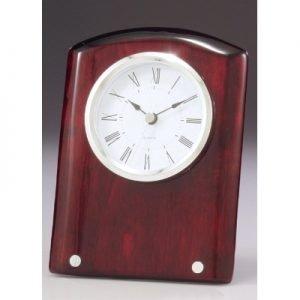 Voyage Timber Clock