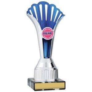Blue Fan Cup