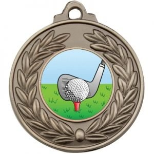 Antique Wreath Medal – Golf