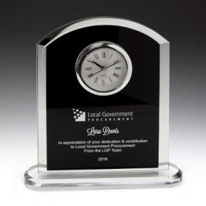 Pax Glass Clock