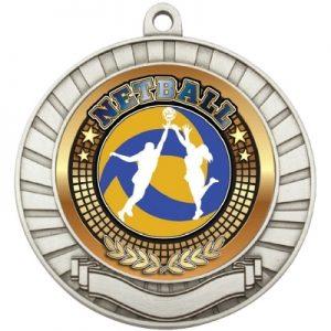 Eco Scroll Medal – Netball