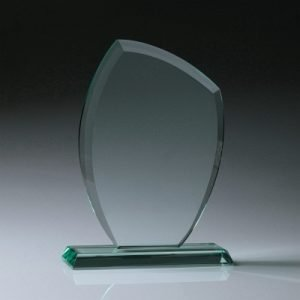 Glass Jade Crescent