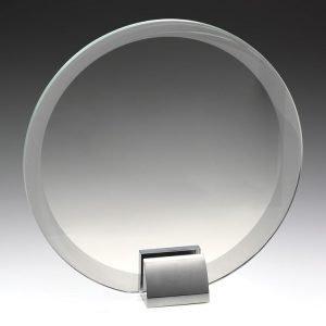 Glass & Metal Compass