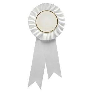 White Rosette w/ Clip 210mm