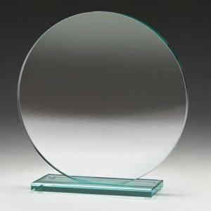 Circle Jade Glass