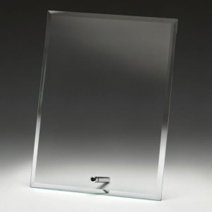 Clear Glass Plaque
