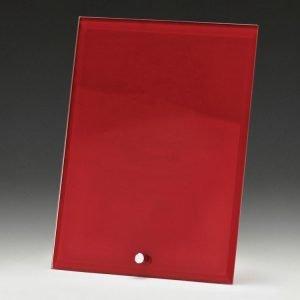Craft Plaque Red